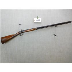 MANTON , MODEL: PERCUSSION RIFLE  ,  CALIBER: 45 CAL PERC
