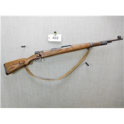 MAUSER , MODEL: K98 ,  CALIBER: 7.92 X 57 KNOWN AS 8MM MAUSER