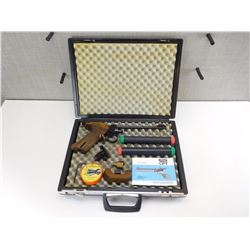 WALTHER MODEL GP-1 AIR PISTOL AND CASE