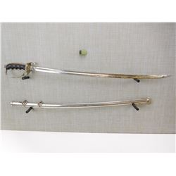 LATE 19TH CENT/EATLY 20TH SWORD AND SCABBARD