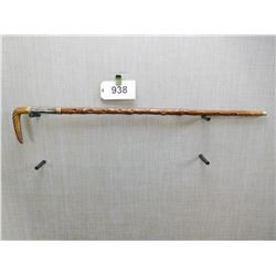 CANE SWORD, HORN HANDLE, BRIAR SHAFT