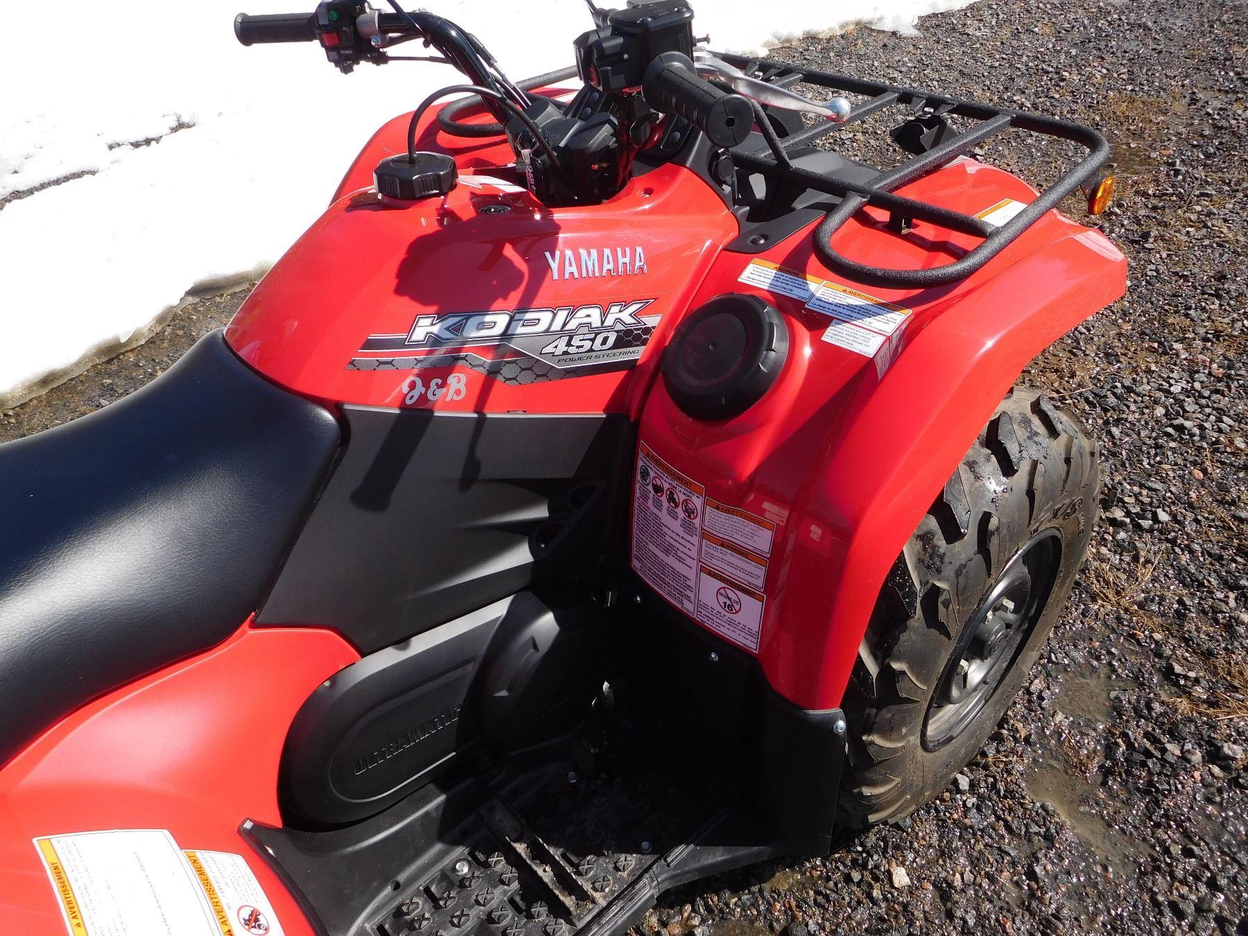 2012 YAMAHA KODIAK 450 CC ATV