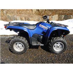 2012 YAMAHA GRIZZLY 700 CC ATV