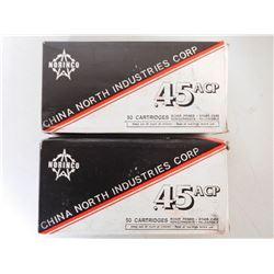 NORINCO 45 ACP AMMO