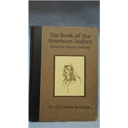 Garland, Hamlin, The Book of The American Indian, 1923, 1st, spine corners bumped; Child's vintage b