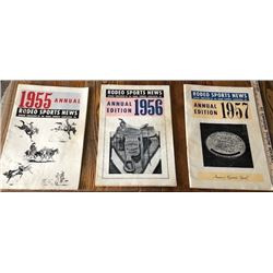 Rodeo Sports News Annual Editions, 1955 - 2017, great rodeo history!