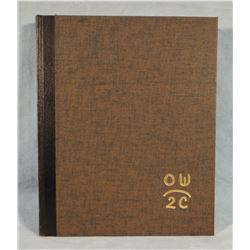 Wieghorst, Olaf, 1st edition book, signed by Olaf and author. est. $200