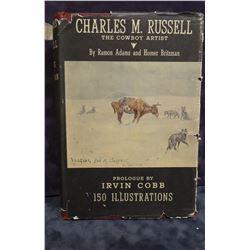 Adams & Britzman, Charles M. Russell, A Biography, 1st, 1948, dj. Book near fine, dj rough