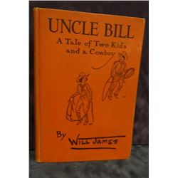 James, Will, Uncle Bill, 1st, 1932, Scribner's A, ex lib