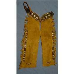Child's chaps, buckles & studs, nice condition