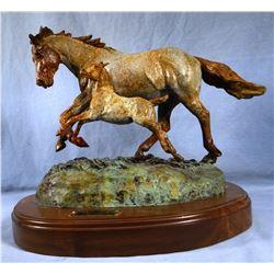 "Contway, Jay bronze, Spirit of the Wind, 12""x 15"", artist proof"