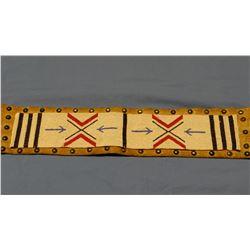 Nez Perce beaded parade belt