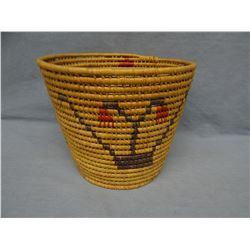 """Woven basket, 9"""" h x 11"""" w"""