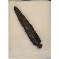 """Grey Ghost large spear point, Arkansas Novaculite, 7 1/2"""", Mack Tussinger"""