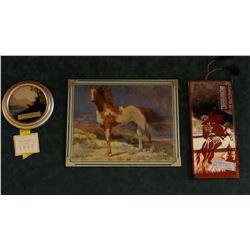 3 advertising premiums, Joe's Tavern, Joplin, MT; Lee's Tavern 1942 calendar, Havre, MT; Dan's Bar,