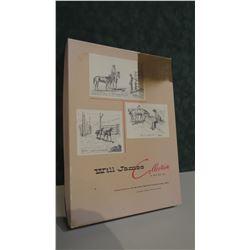 Will James Collection stationary set, original box
