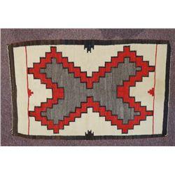 "Navajo weaving, 30"" x 48"""