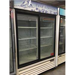 Blue Air 2 Sliding Glass Door Merchandiser