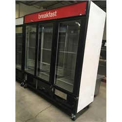 True 3 Glass Door Freezer