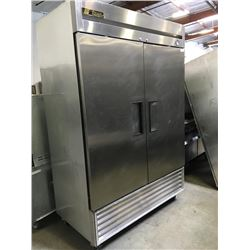True 2 Door Freezer