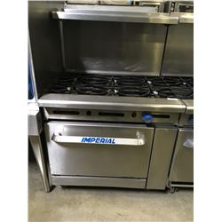 Imperial 6 Burner Range w/Oven Below