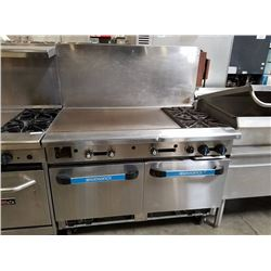 "Radiance 36"" Griddle w/2 burner & 2 Ovens Below"