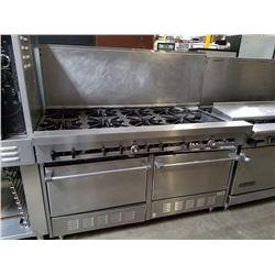 Sunfire 10 Burner Range w/2 Ovens Below