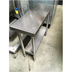 """12"""" All S.S Equipment Stand / Worktable"""