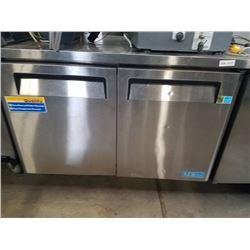 Turbo Air M3 2 Door Worktop Freezer