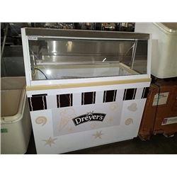 "Hussman 47"" Ice Cream Dipping Cabinet"