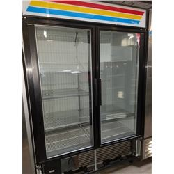 True 2 Glass Door Freezer