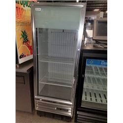 True Single Glass Door Freezer