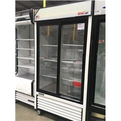 Turbo Air 2 Sliding Glass Door Merchandiser