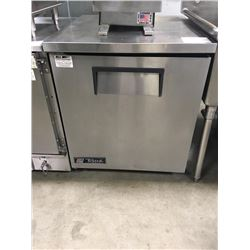 True Single Door Worktop Freezer