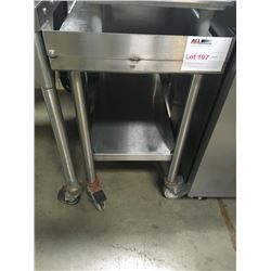 All S.S. Fryer Cart