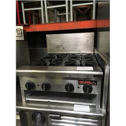 Tri Star 4 Burner Countertop  Gas Fryer
