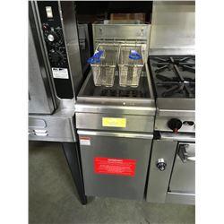 Quality 35-45lb Gas Deep Fryer