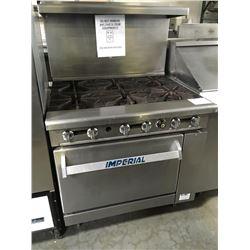 Imperial 6 Burner Rangew/Oven Below