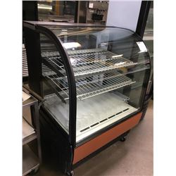 """True 36"""" Curved Glass Bakery Display Case"""