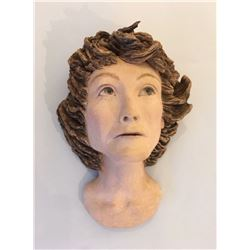 """""""What Am I Thinking?"""" - Sculpture by Patti Hallowes"""