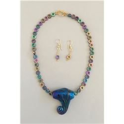 Yvette Franklin Glass Necklace