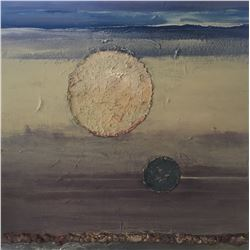 Soni Wright - Once in a Blue Moon, painting
