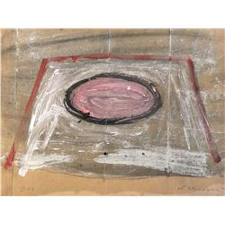 """""""Orb"""" - Painting on paper by Jay Steensma"""