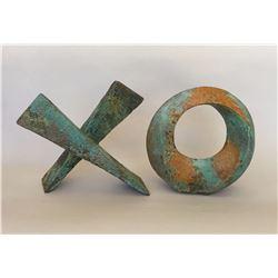 "Charles Sherman, ""Love Letters"", ceramic sculpture"