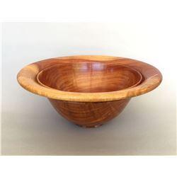 "Al Sils, ""Sunset"", Bowl in Carob wood"