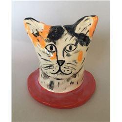 Linda Smith, Cat #9, Ceramic Sculpture