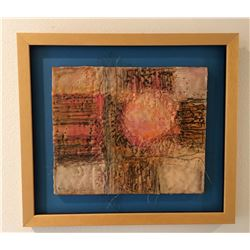 Gayel Childress, It's a New Day, Encaustic on board