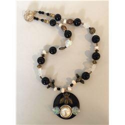 Bonnie Kelm / Bella Kaye Designs, Save The Bees Necklace