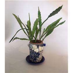 Gail Hercher, Mosaic Planter