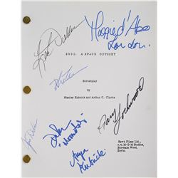 2001: A Space Odyssey Signed Script